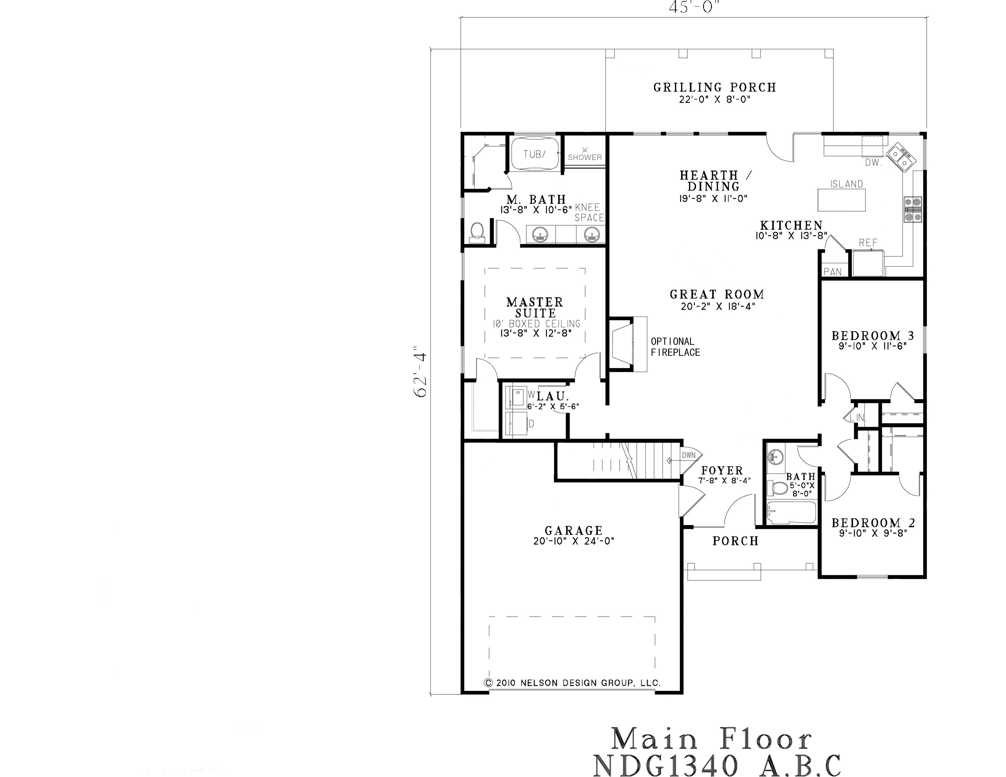 Southland custom homes on your lot home builders ga for The lenox floor plan