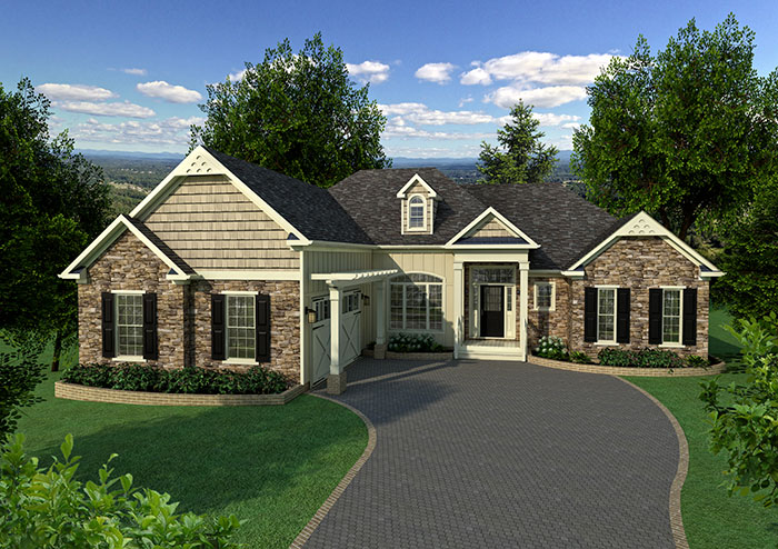 Southland custom homes on your lot home builders ga for Custom home builders georgia